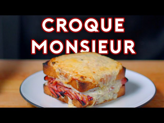 Binging with Babish: Croque Monsieur from Brooklyn Nine-Nine - Binging with Babish