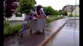 poubelle ambulante