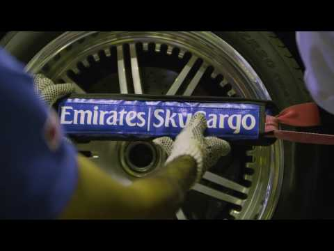 Pagani Supercar flies on Emirates SkyWheels | Emirates SkyCargo