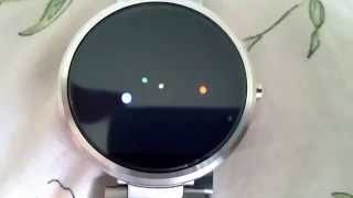 LOLLIPOP (Android OS 5.1.1) ON ANDROID WEAR MOTO360