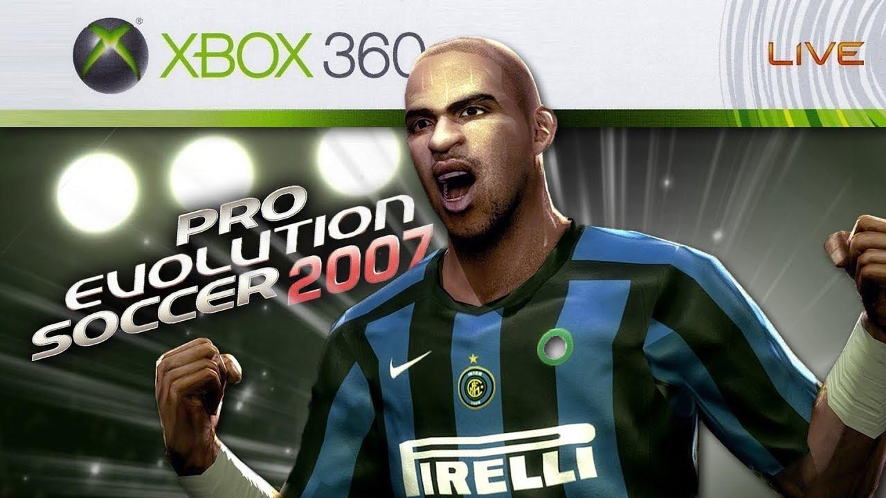 PRO EVOLUTION SOCCER 2007 (XBOX 360) – PRIMEIRO PES DA 7° GERAÇÃO!
