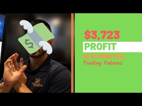 $3,723 in Profit Trading Futures ES, RTY, NQ