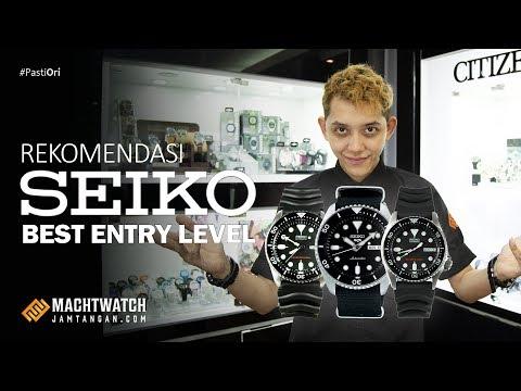 Rekomendasi Seiko Best Entry Level #JamTangan #Seiko