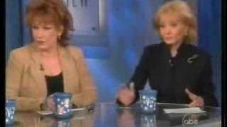Cat Fight on the View, Rosie vs Elizabeth