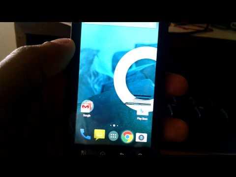 Motorola Atrix 4G running kitkat rom