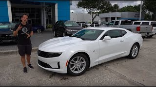 Did Chevy make a BIG MISTAKE with the 2019 Camaro TURBO?