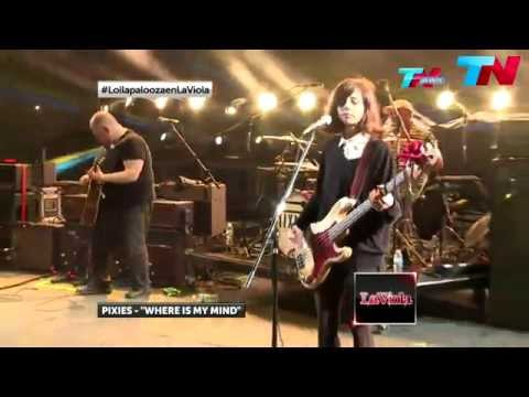 Pixies - Where Is My Mind - Lollapalooza Argentina 2014
