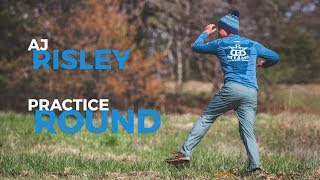 Pro Worlds Disc Golf Practice with AJ Risley