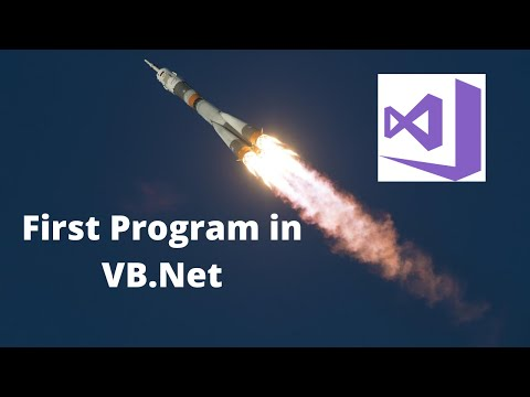 How To Create A Software In Visual Basic .net(Rocket Launching Program In Vb.net)