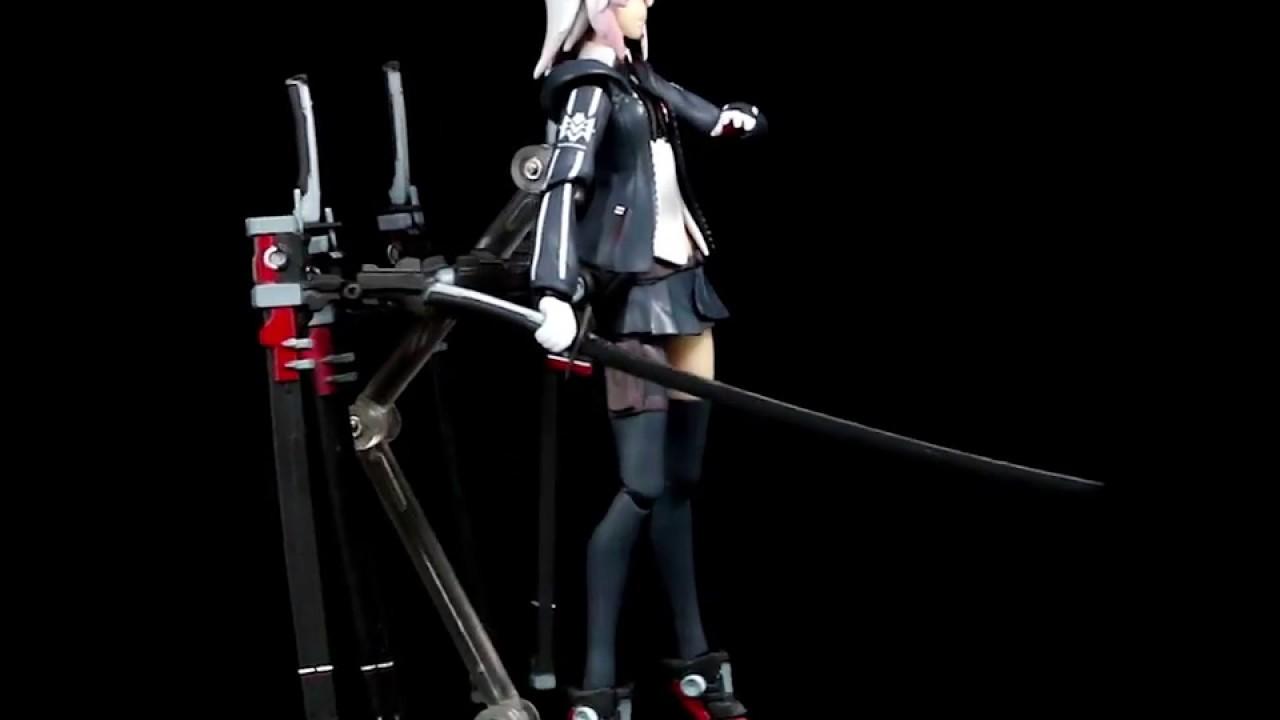 figma 422 重兵裝型女高中生 動漫 擺件 手辦模型 - YouTube