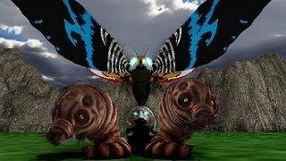 MMD Godzilla - Mothra's Revenge Trailer (Forgotten, trashed project)