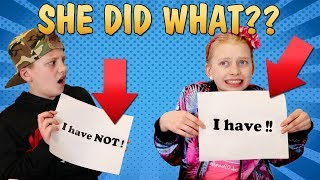 Never Have I Ever......Shocking Secrets Revealed to Parents!!