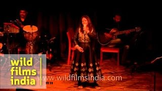 Rekha Bhardwaj sings