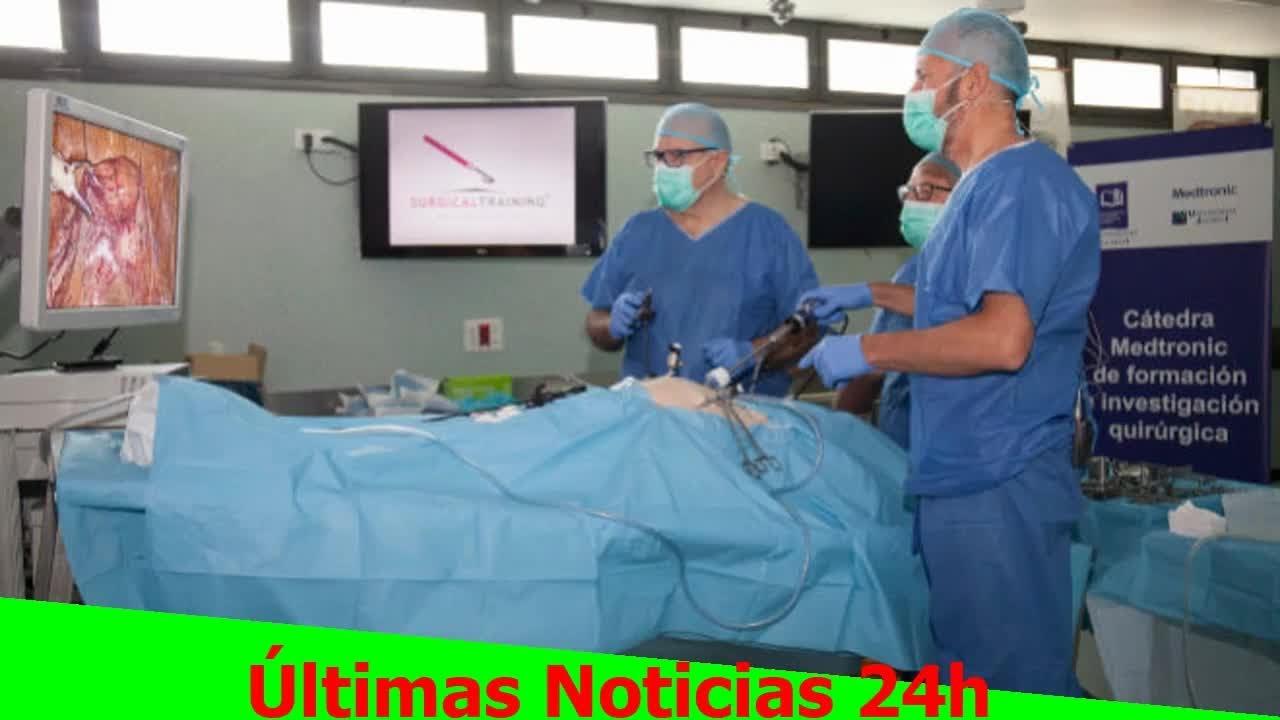 La UJI acoge una intervención de cirugía ginecológica modelo cadáver ...