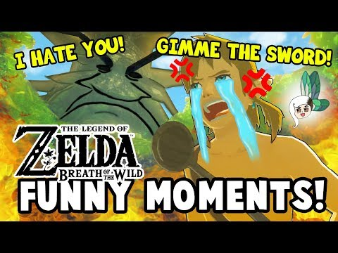 WHY THE DEKU TREE HATES LINK?! Zelda: Breath Of The Wild Funny Moments
