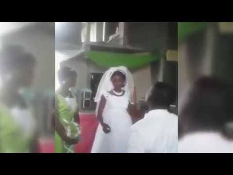 Groom stunned when bride does something HORRIBLE during wedd