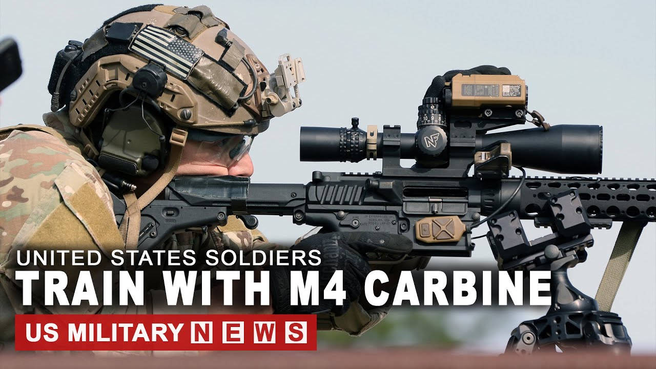 Watch US Soldiers train with M4 Carbine in Italy