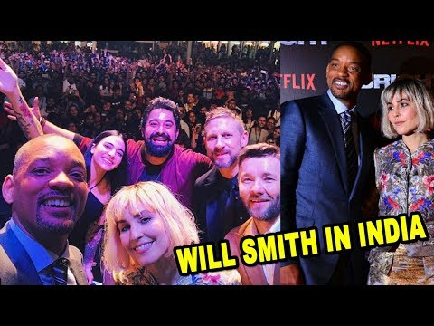 Will Smith in India: Host The Netflix 'Bright' Premier | Rannvijay Singh, Pooja Hegde, Armaan Malik
