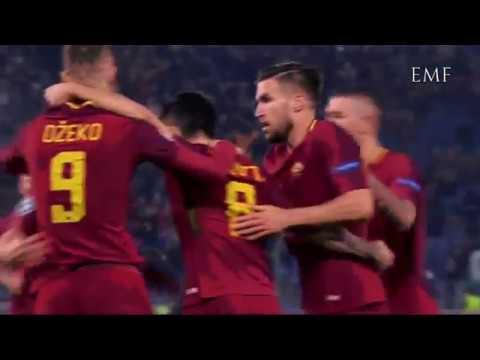 Roma 1-0 Qarabag - gol Perotti - Zampa, Pardo, RomaTV, RomaRadio, Teleradiostereo, Repice
