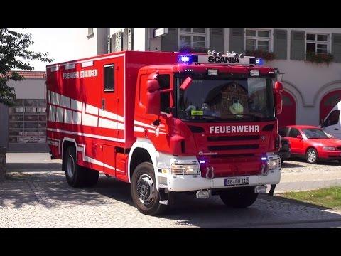 [Explosion im Rathaus] Einsatz Feuerwehr Sömmerda + Feuerwehr Böblingen + ASB Sömmerda