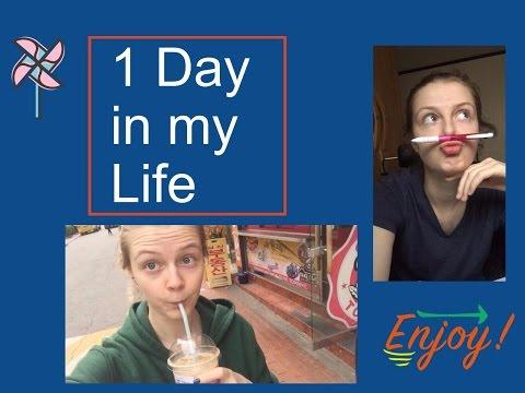 1 day as a student in HUFS, Seoul/ 외국인 학생 생활/ 1 день из жизни студентки в Сеуле