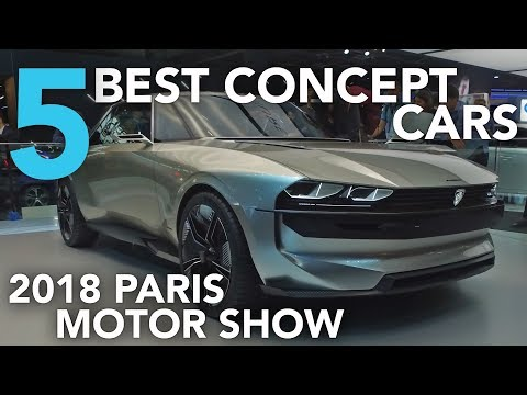 Top 5 Best Concept Cars of the 2018 Paris Motor Show