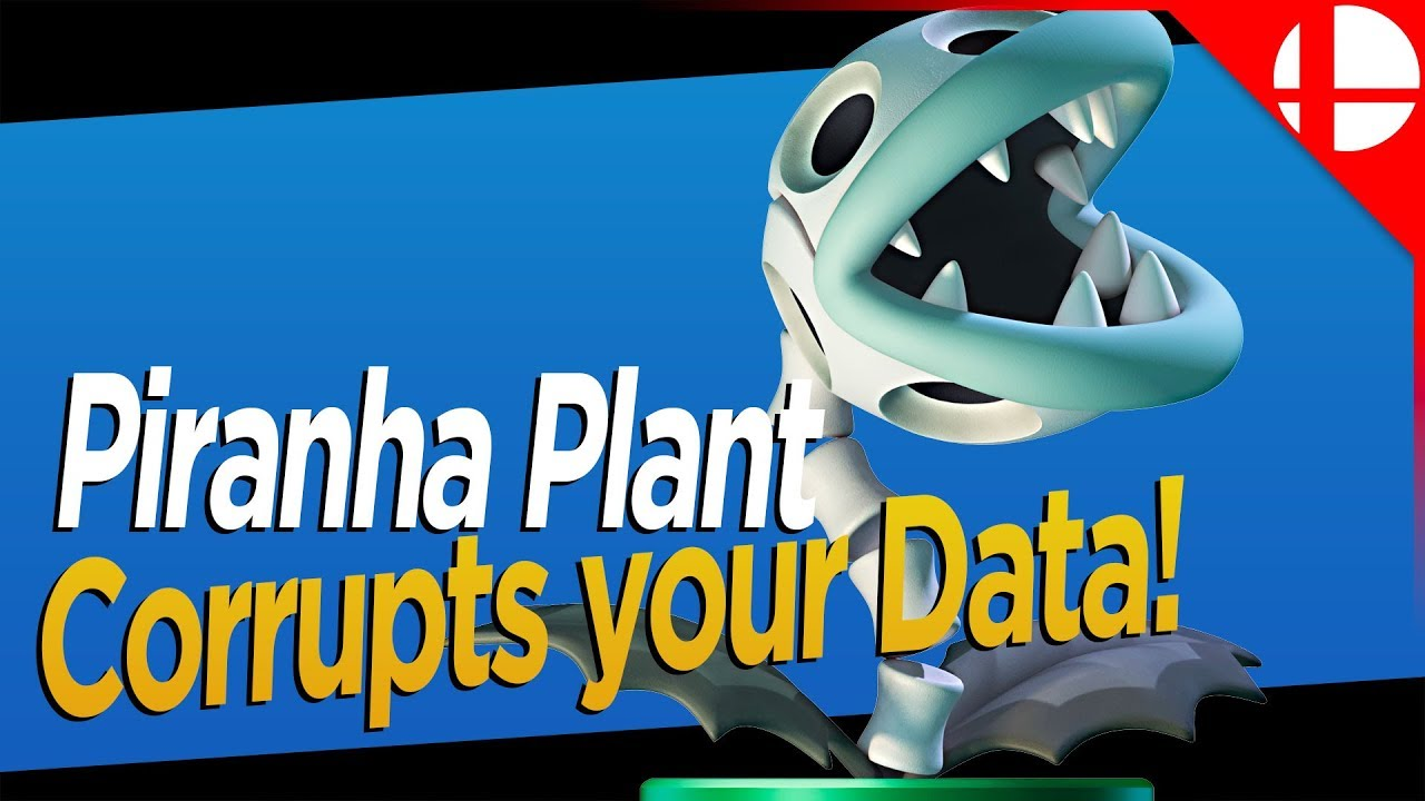 Piranha Plant CAN CORRUPT YOUR SAVE DATA IF YOU DO THIS in Smash Ultimate