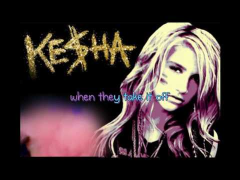 Take it off - Ke$ha (Karaoke/Instrumental) Official!