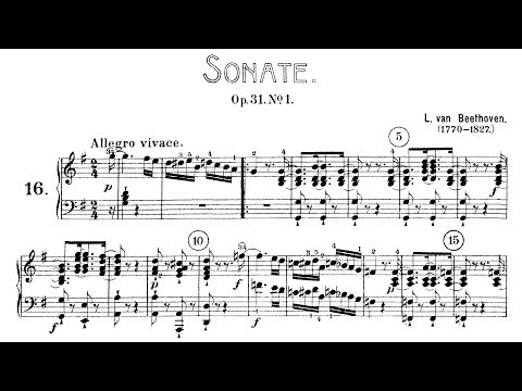 Beethoven: Sonata No.16 in G Major, Op.31 No.1 (Kovacevich, Goode)
