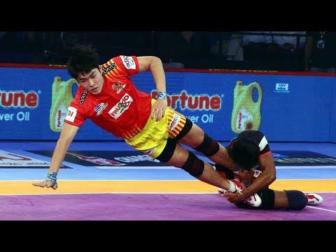 Pro Kabaddi 2018 Highlights | Gujarat FortuneGiants vs Bengaluru Bulls | Hindi