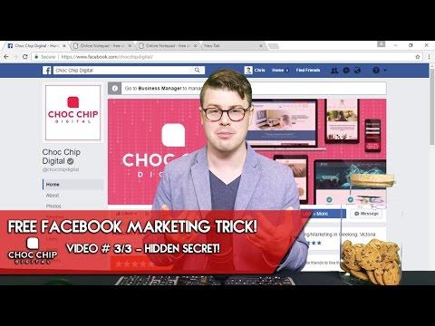 Free Facebook Marketing Trick – Hidden Secret