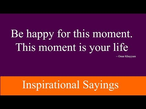 Inspirational Sayings About Life & Love