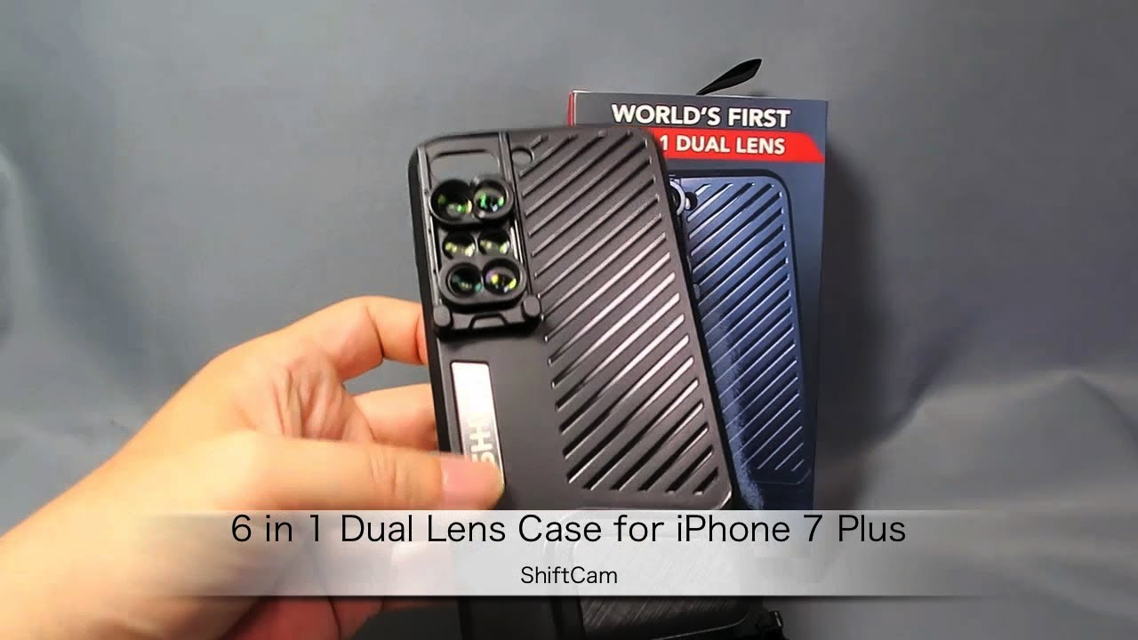 brand new 836e2 04f6f ShiftCamの「6 in 1 Dual Lens Case for iPhone 7 Plus」製品紹介