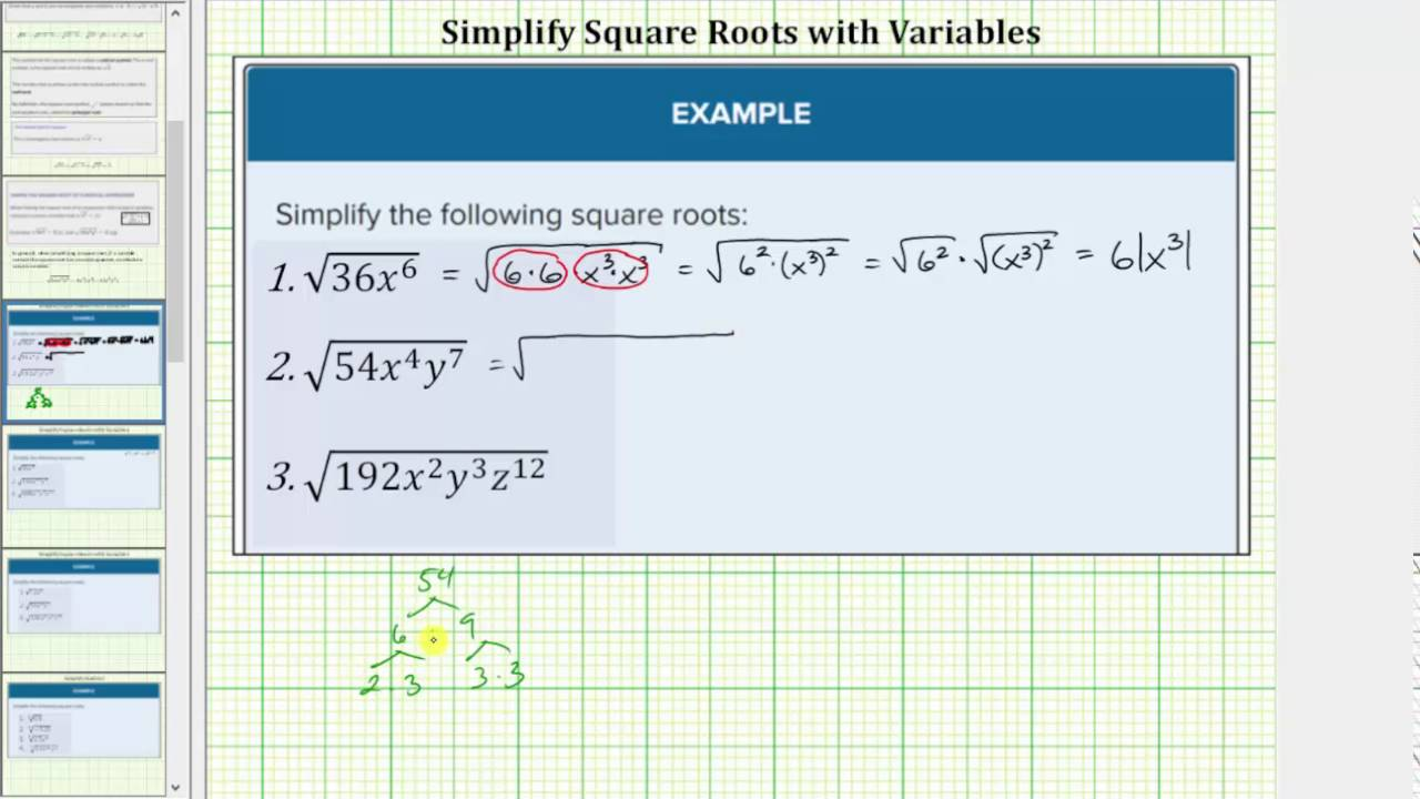 Evaluate And Simplify Square Roots College Algebra Since 15*15 = 225, the square root of 225 is 15. evaluate and simplify square roots