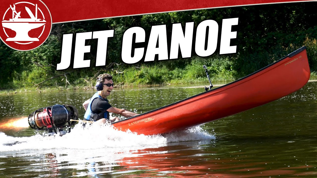 JET ENGINE CANOE! (World's Fastest!)