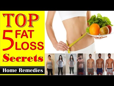 Top 5 Fat Loss Secrets || loss weight Home Remedies || For Both (Men & Women)