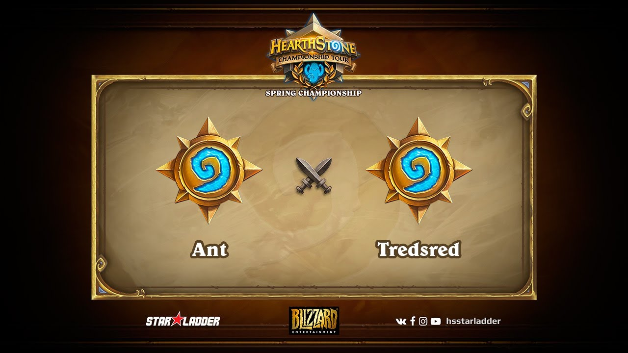 Ant vs Tredsred, Group D decider, Hearthstone Championship Tour Spring 2017