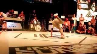 UFB 2014. bgirl battle. maryam (iran) vs Agnes(Turkey)