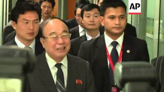North Korean foreign minister arrives at ASEAN summit