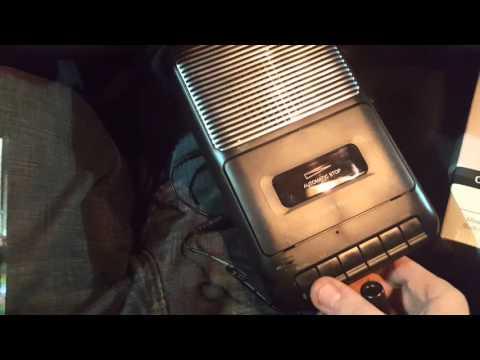 Onn cassette  recorder. Still get today as of 2.1 .2016