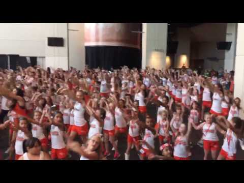 Junior Denver Broncos Cheerleaders- National Dance Day 2016