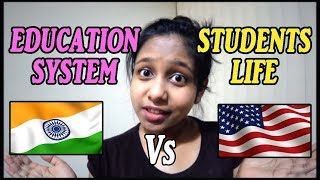 STUDYING IN INDIA VS USA🖊 |EDUCATION SYSTEM & STUDENTS MINDSET | BY Official Jhalli thumbnail
