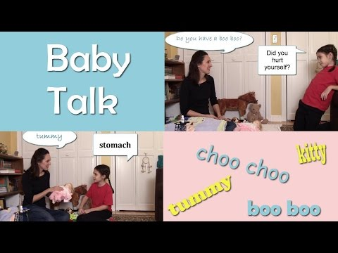 Baby Talk - English Language Notes 18 - Choo choo, kitty, and more!