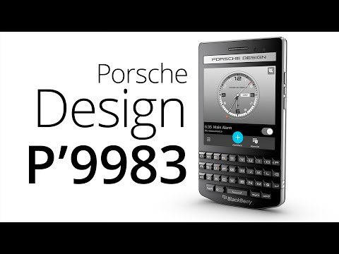 BlackBerry Porsche Design P'9983 (recenze)