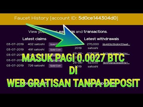 SUPER LEGIIIT !! MASUK LAGI DARI WEB GRATISAN TANPA DEPOSIT | WEB MINING BARU