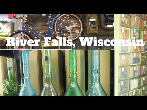 BONGS, VIDEO GAMES & ANTIQUES OH MY!!! || River Falls UofW || Vlog #12