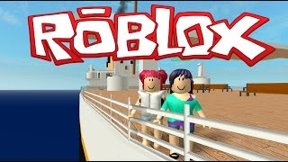 Roblox! | Escape The Titanic! | NEVER LET GO! | With Salems Lady! Amy Lee33
