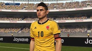 Tutorial uniforme de Colombia eliminatorias Rusia2018 para PES2016 PS4 Next-Gen PESnosUNE