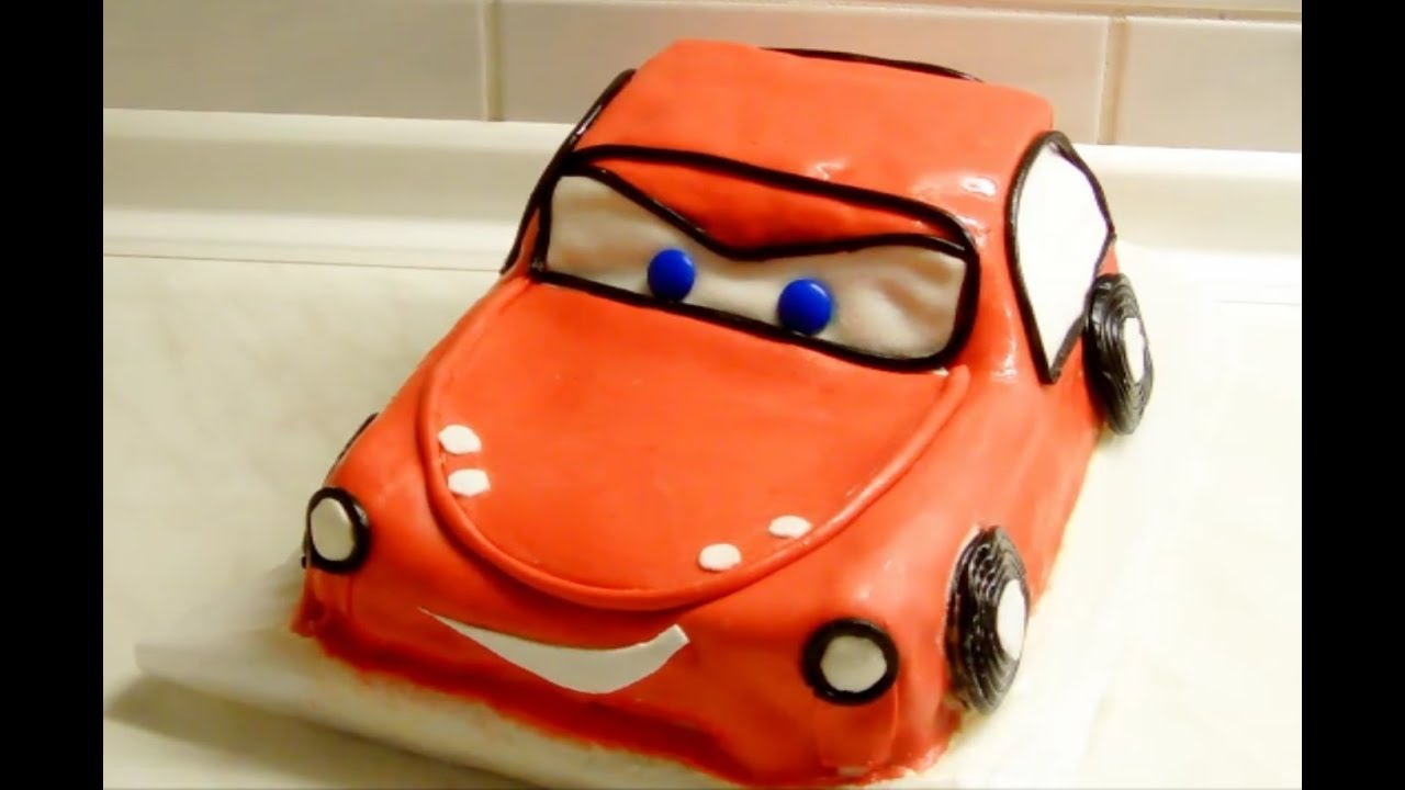 cars torte selber backen