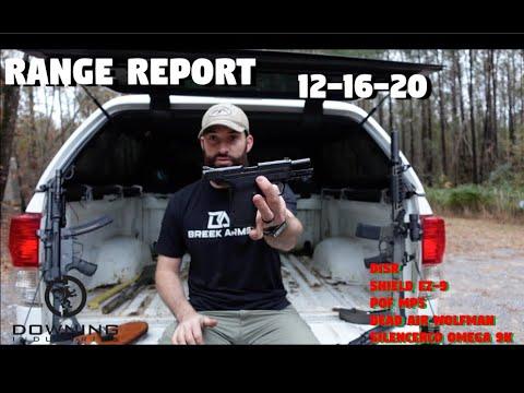 Range Report 12-16-20